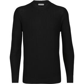 Icebreaker Waypoint Crew sweater Herrer, sort